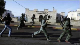 Израильские военные в Иерусалиме