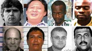 Interpol: los nueve más buscados
