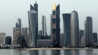 卡塔爾首都多哈。