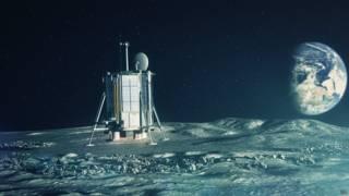 Arte do módulo lunar