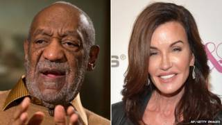 Bill Cosby y Janice Dickinson