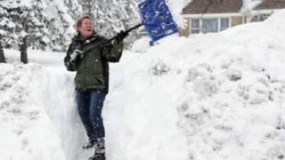 अमरीका, बर्फबारी