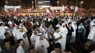 Митинг шиитов в Бахрейне