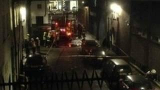 लंदन में धमाका