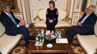 ईरान परमाणु कार्यक्रम पर चर्चा