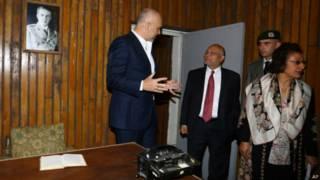 Премьер-министр Албании и гости