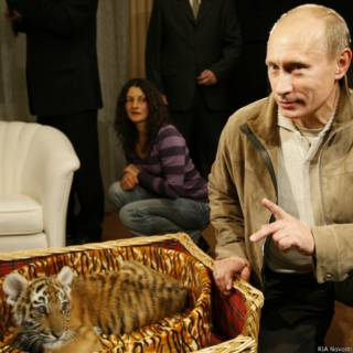 Тигренок и Путин