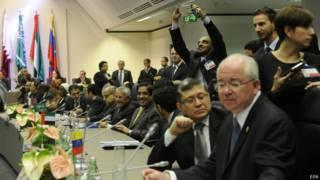 वियना में ओपेक देशों की बैठक