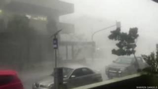 ऑस्ट्रेलिया में तूफ़ान