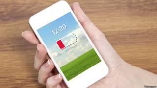 स्मार्टफ़ोन की बैटरी