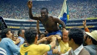Pelé / Crédito: AP