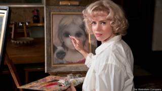 La increíble historia de la pintora de los ojos gigantes
