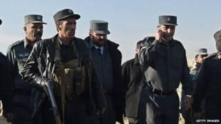 Trưởng cảnh sát Kabul, tướng Zahir Zahir