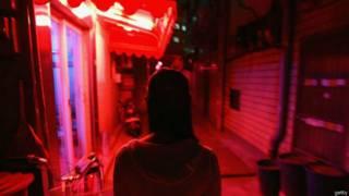 Zona da luz vermelha em Seul