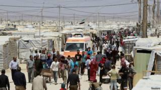 suriyeli mültecilerim kampı