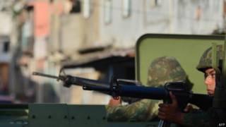 Exército na Maré / Crédito: AFP
