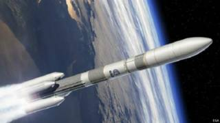 صورة تصورية للصاروخ الأوروبي آريان 6