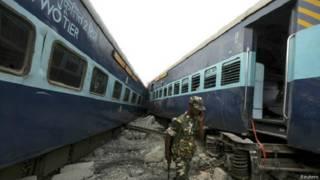ट्रेन दुर्घटना का फाइल फोटो