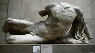 Статуя речного бога Илиссоса