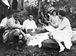 Сталин на пикнике