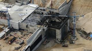 """Строительство космодрома """"Восточный"""" - снимок сентября 2014 года"""