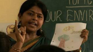 संस्कृत, अध्यापिका