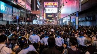 محتجون هونغ كونغ