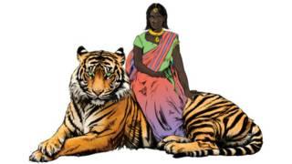 Priya's Shakti, a heroína dos quadrinhos na Índia (foto: Divulgação)
