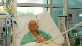 Александр Литвиненко в лондонской больнице