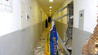 Внаслідок вибуху ніхто не постраждав, однак пошкоджено офіс волонтерської організації та товари для бійців АТО