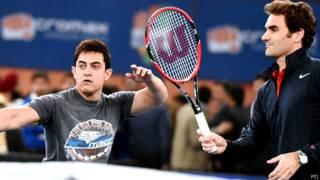 आमिर ख़ान, रोजर फ़ेडरर