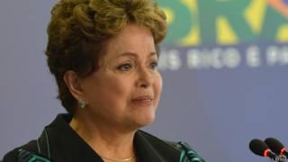 Dilma se emociona na apresentação do relatório da Comissão da Verdade (Ag Brasil)