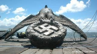 Aguila del Graf Spee, foto de Alfredo Etchegaray