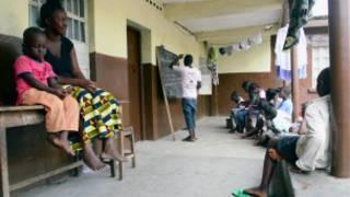 barnar cutar ebola a Guinea