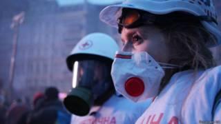 """Кадр из фильма """"Евромайдан. Черновой монтаж"""""""