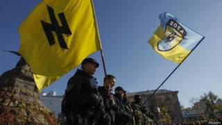 "Церемония присяги в батальоне ""Азов"""