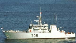 Канадский военный корабль (архивное фото)
