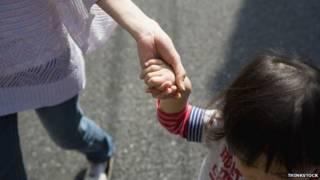 日本女人与孩子