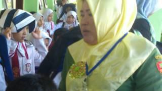 Latihan tsunami di Aceh