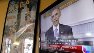 Obama en la TV cubana