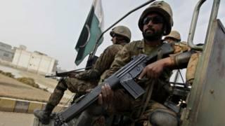 पाकिस्तान सुरक्षाकर्मी (फ़ाइल फोटो)