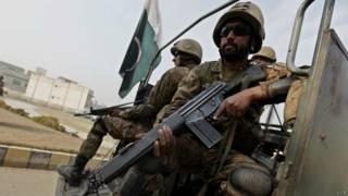 पाकिस्तानी सेना के जवान
