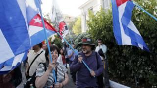 Кубинцы радуются