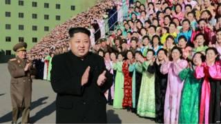 किम जोंग उन, उत्तर कोरिया
