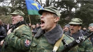 الانفصاليون في أوكرانيا