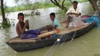 मछुआरों के बच्चे, बिहार