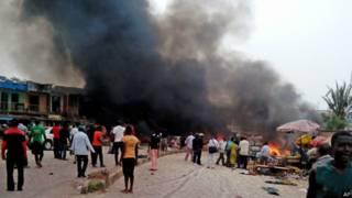 नाइजीरिया, विस्फोट (फ़ाइल फ़ोटो)