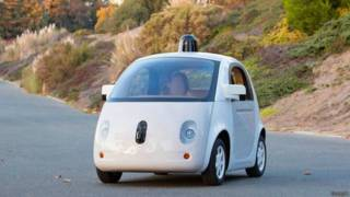 गूगल सेल्फ़ ड्राइविंग कार