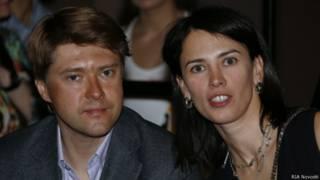 Владимир Ашурков и Александрина Маркво