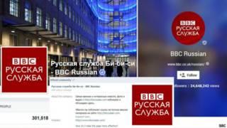 Сообщества в социальных сетях Русской службы Би-би-си